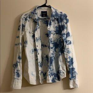 Adorable American Eagle Denim shirt